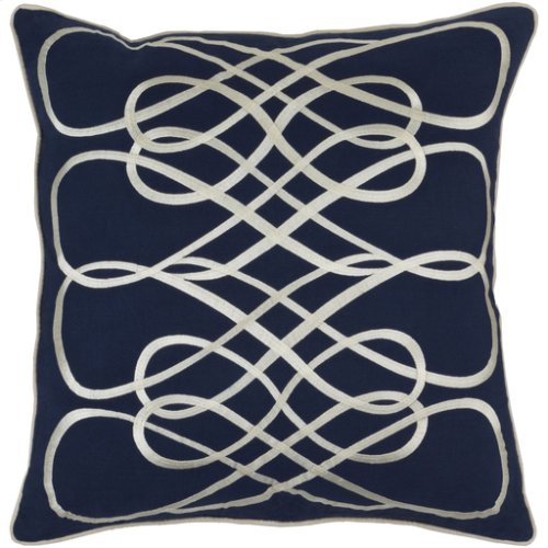 """Leah LAH-001 22"""" x 22"""" Pillow Shell Only"""