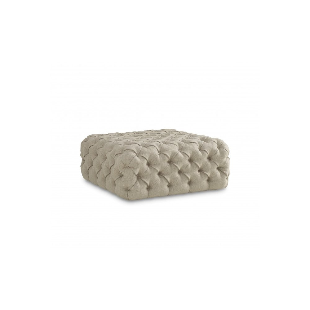 The Foundry Banks Tufted Ottoman
