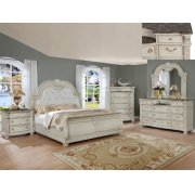 Stanley Night Stand Antique White Product Image