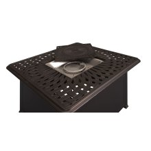 Fire Pit Kit W/fire Glass