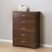 5-Drawer Chest Dresser - Sumptuous Cherry