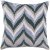 "Additional Ikat Chevron AR-053 18"" x 18"" Pillow Shell with Polyester Insert"
