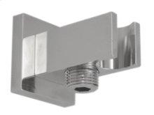 Square Waterway Elbow - Brushed Nickel
