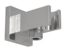 Square Waterway Elbow - Brushed Nickel