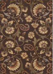 Elegance - ELG5328 Brown Rug