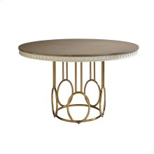 Oasis-Venice Beach Round Dining Table in Oyster