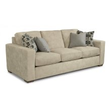 Collins Fabric Three-Cushion Sofa