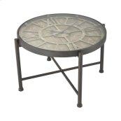 Marylebone Bronze with Burnt Oak Wood and Metal Coffee Table