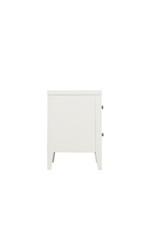 Emerald Home Home Decor 2 Drawer Nightstand-white B371-04wht