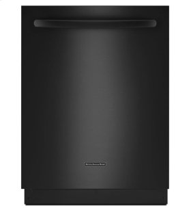 KitchenAid® 24-Inch 4-Cycle/6-Option Dishwasher, Architect® Series II - Black