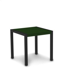"""Textured Black & Green MOD 30"""" Dining Table"""