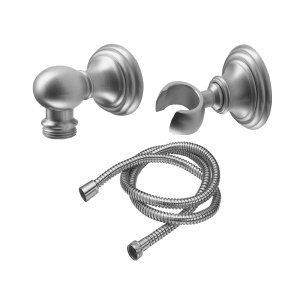 Huntington Wall Mounted Handshower Kit - Line - White