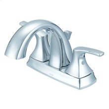 Chrome Vaughn Two Handle Centerset Lavatory Faucet