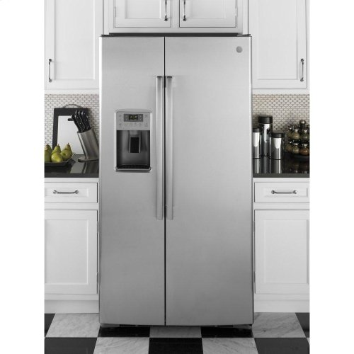 GE Profile™ Series 28.4 Cu. Ft. Side-by-Side Refrigerator