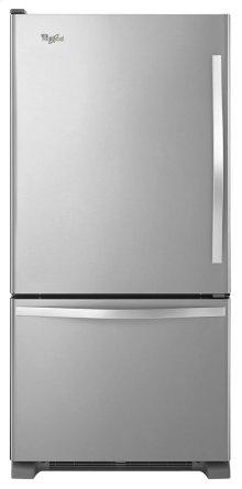 Whirlpool® 19 cu. ft. Bottom-Freezer Refrigerator with Freezer Drawer