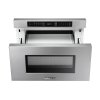 "Dacor 24"" Microwave-In-A-Drawer, Silver Stainless Steel"