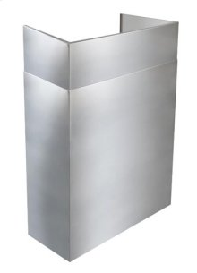 """AEWPD3054SB - 30"""" to 54"""" Telescopic Flue Extension for Outdoor Hoods in a 16"""" Extended Depth Installation"""
