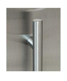 Slim Low Profile ADA Door Handle - Stainless Steel