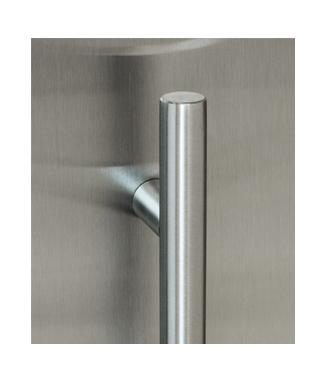 Slim Low Profile ADA Door Handle   Stainless Steel Hidden