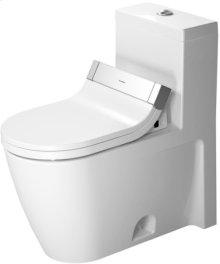 White Starck 2 One-piece Toilet For Sensowash®