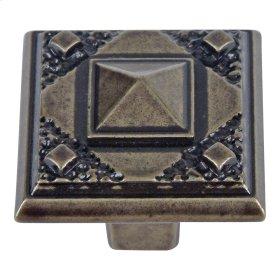 Craftsman Knob 1 1/4 Inch - Burnished Bronze