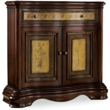 Vineyard Two-Door/One-Drawer Two-Tone Shaped Hall Chest