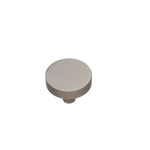 "1 1/2"" diameter Knob - Matte Satin Chrome"