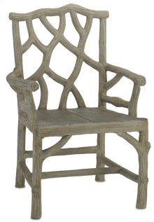 Woodland Arm Chair - 37.5h x 26w x 20d