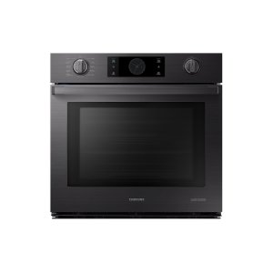 "Samsung Appliances30"" Flex Duo™ Chef Collection Single Wall Oven in Matte Black Stainless Steel"