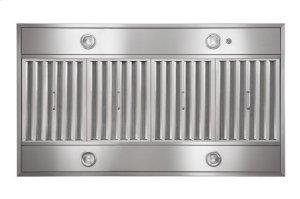 "Gorgona - 48"" x 27"" Stainless Steel Island Range Hood with iQ12 Blower System, 1200 CFM"