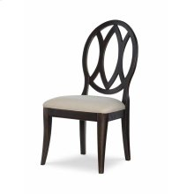Oval Back Side Chair - Peppercorn