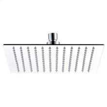 "Mountain Re-Vive - 10"" Square Rain Head - Brushed Nickel"