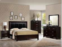 Jocelyn Bedroom Group (D,M,CH, QUEEN HB/FB/Rails)