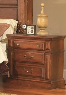 Night Stand - Antique Pine Finish