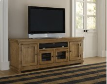 """74\"""" Console - Distressed Pine Finish"""