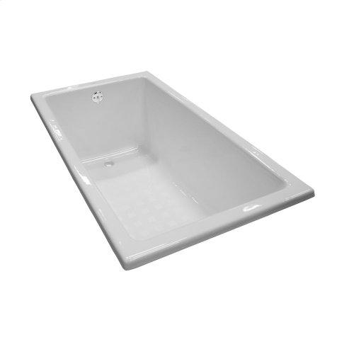 Enameled Cast Iron Bathtub 59-1/16 - Cotton