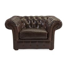Morgan Tufted Leather Chair