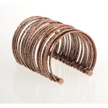 BTQ Bronze Multi Wire Cuff