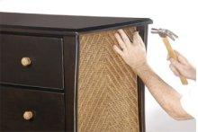 Optional Rattan Panel and Drawer Pulls