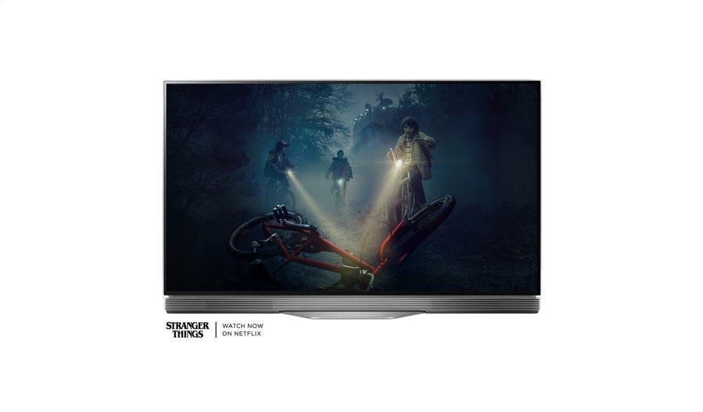 "E7 OLED 4K HDR Smart TV - 55"" Class (54.6"" Diag)"