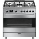 """Free-Standing Dual-Fuel Range, Approx. 36"""", Stainless Steel Product Image"""