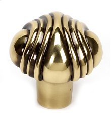 Venetian Knob A1502 - Polished Antique