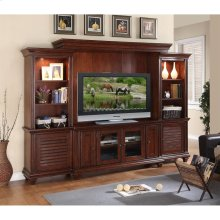Windward Bay - Bridge & Back Panel - Warm Rum Finish