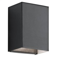 Walden 1 Light LED Wall Light Textured Black