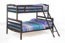 Sesame Twin Full Bunk in Dark Chocolate Finish