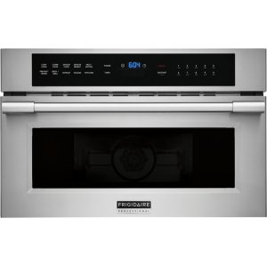 Frigidaire Pro 30'' Built-In Convection Microwave Oven with Drop-Down Door