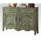 Antique Greeen Console Table Product Image