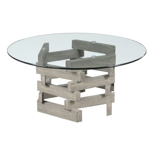Emerald Home Jenga Coffee Table Driftwood T833-00-k