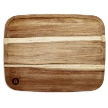 "11"" x 14"" Acacia Cutting Board - Acacia Wood"