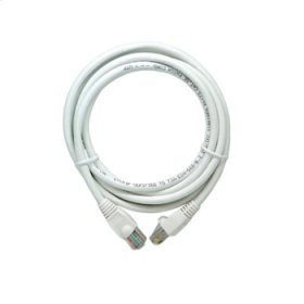 7 Foot Cat 5e Patch Cable, White
